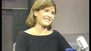 Carrie Fisher on Late Night, 1983, 1987