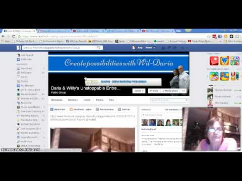 How to put your videos from your Fan  page to a group