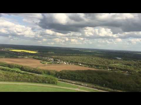 Take off from Stansted Airport with amazing views on a sunny day!