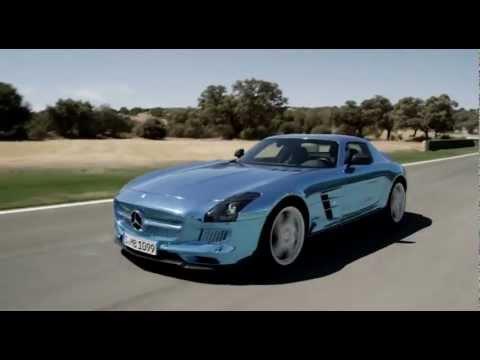 Road Trailer - Mercedes 2014 SLS AMG Electric Drive