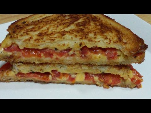 HOW TO MAKE TOMATO CHEESE SANDWICH  RECIPE