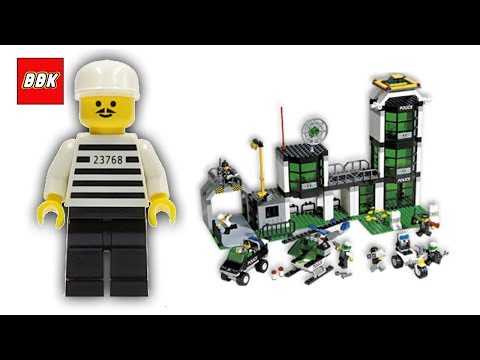 Lego City Town Police Command Post Central 6332 Quick Lego Review
