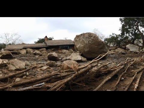 California Mudslide Disaster: Entire Neighborhood Destroyed