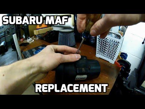 DIY Subaru MAF Replacement