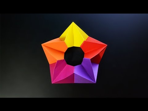 Origami: 3D Star - Instructions in English (BR)