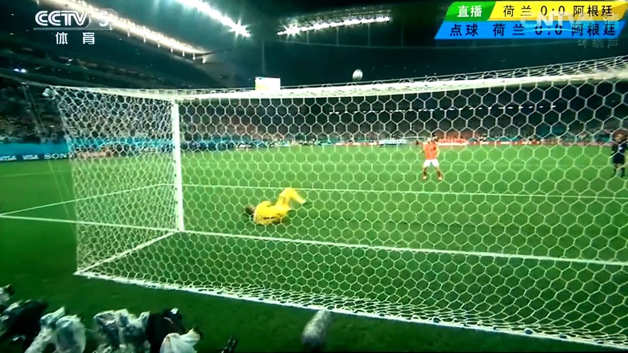 20140710 world cup 世界杯4強 阿根廷VS荷蘭 PK大戰