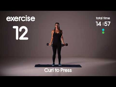 Rock Hard Triceps, Shoulders & Biceps HIIT Workout