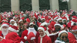 A Look at How SantaCon Was Celebrated Throughout the Country