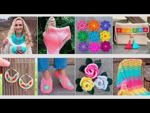Naztazia End of The Year Recap - Crochet & Knitting Projects by Donna Wolfe