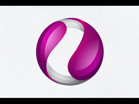 Adobe Illustrator Tutorials   How To Create 3D Logo Design   Create A Circle Logo In Illustrator