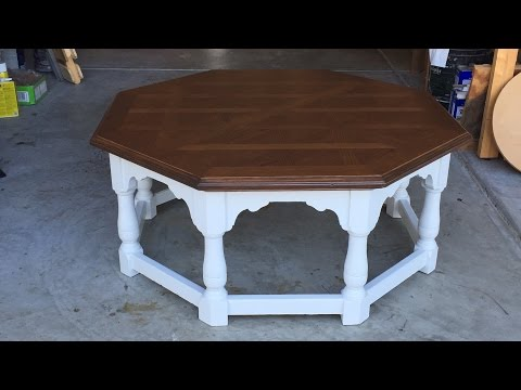 Kimberly's Coffee Table Refinish