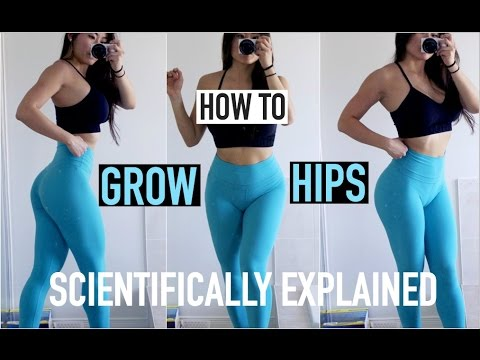 6 EXERCISES TO GROW YOUR HIPS | A Scientific Approach to Training Hips
