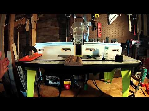 Making Molding/frames on the router table/Ideas