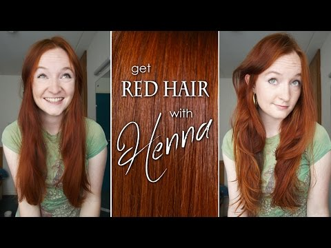 How to Dye Your Hair Red with Henna
