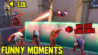 FUNNIEST MOMENTS IN VALORANT #53...