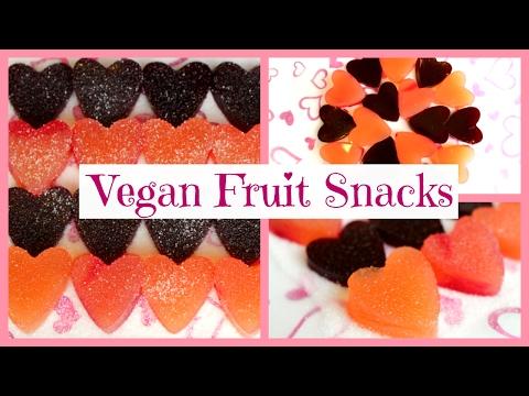 VEGAN FRUIT SNACKS   Agar Agar Jello   Collab with Emily Alice ♡ Easy Vegan Valentine's Day Recipe