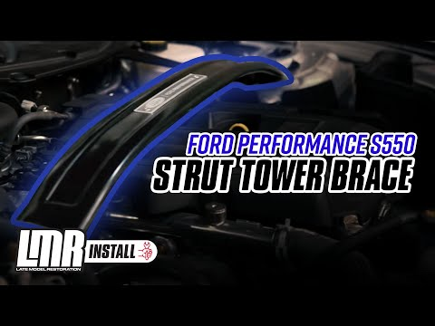 2015-2018 Mustang Ford Performance Strut Tower Brace - Install & Review