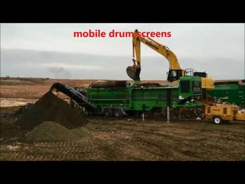 Neuenhauser Umwelttechnik - Shredder Starscreen Drumscreen Windshifter Grinder Flipflow Screen