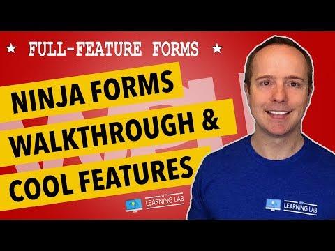 Ninja Forms Overview & Best Features Walkthrough