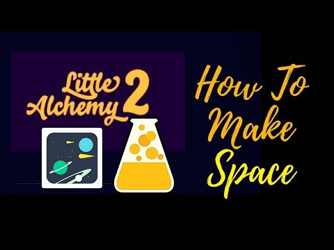 Little Alchemy 2-How To Make Space Cheats & Hints