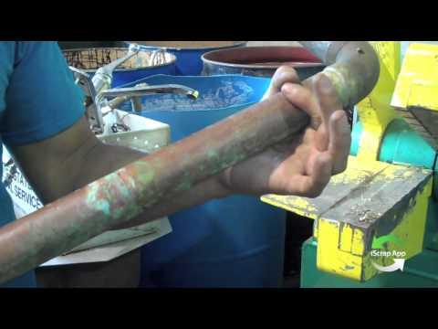 Scrap Yard Sheer Cleaning Copper