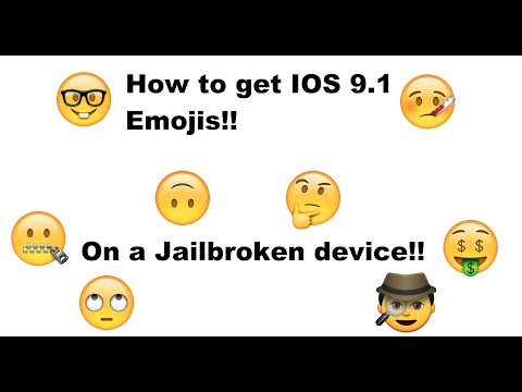 How to get IOS 9.1 Emojis on IOS 9-9.0.5!