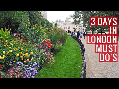Top spots to visit with 3 days in London