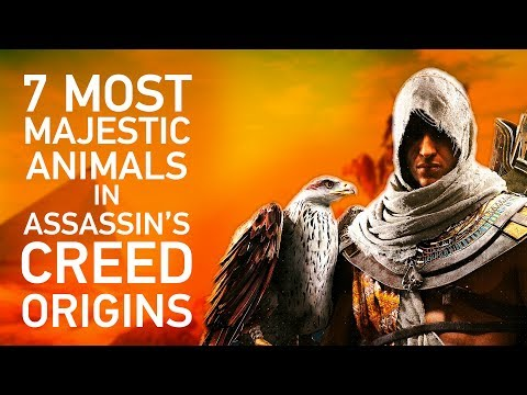 The 7 Most Majestic Animals You'll Find in Assassin's Creed Origins, Including Flaming Hippos