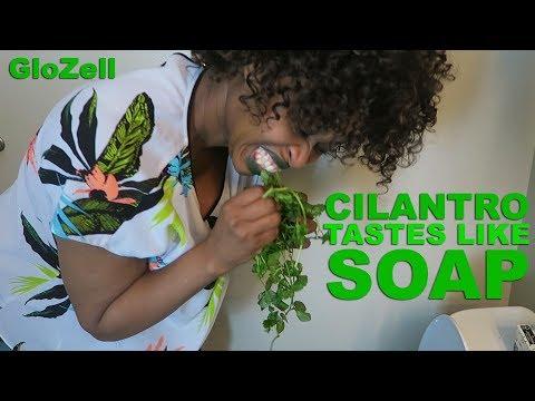 Cilantro Tastes Like Soap - GloZell