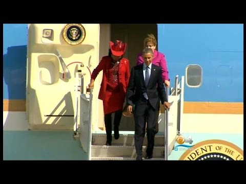 President Obama Stops Into Miami For Immigration Town Hall At FIU