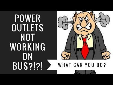 Power Outlets Not Working On Greyhound Bus | What Can You Do?