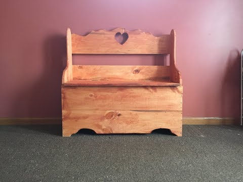 How To Make A Storage Bench (DIY)