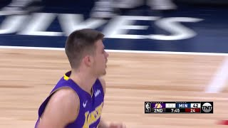 2nd Quarter, One Box Video: Minnesota Timberwolves vs. Los Angeles Lakers