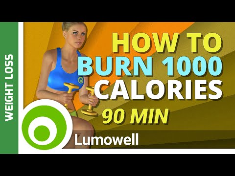 How To Burn 1000 Calories - Best Cardio At Home