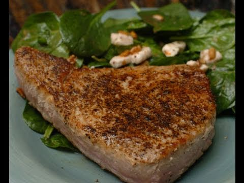 In the Kitchen with Ken: Seared Tuna Steaks