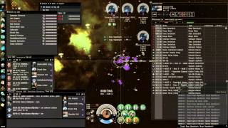 Incursions in null sec with Drakes and Ospreys part 1