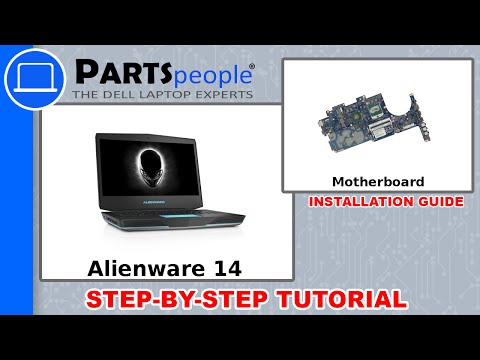 Dell Alienware 14 R1 (P39G001) Motherboard How-To Video Tutorial