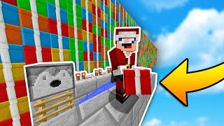 Minecraft Christmas TNT WARS! (Literally Shooting Gifts...)