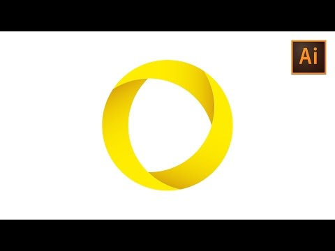 Learn How to Draw a Circular Vector Logo in Adobe Illustrator | Dansky