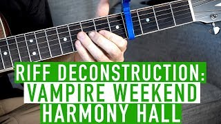 Download Harmony Hall - Vampire Weekend - Guitar Lesson Video