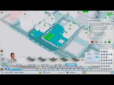 SimCity - Increase Land Value Quickly and Easily