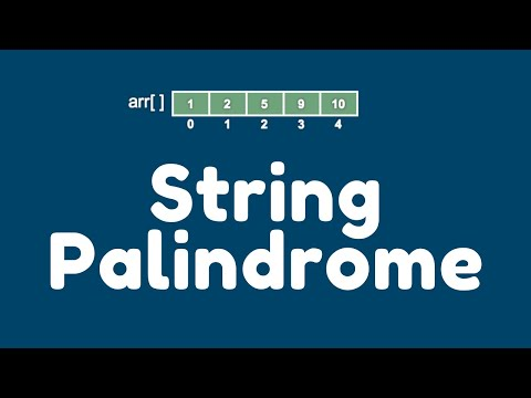How to check whether a given string is palindrome or not through a Java program ?.