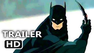 JUSTICE LEAGUE DARK Official Trailer (Batman, 2017) DC Superhero Animated Movie HD