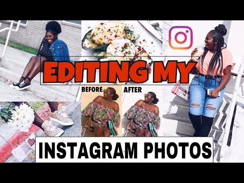 HOW I EDIT MY INSTAGRAM PHOTOS (2017) | quick! Easy! And free apps