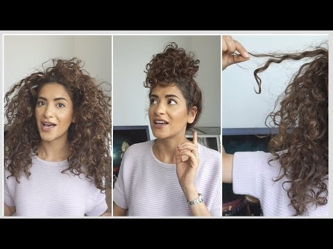 My Signature Messy Curly Bun + Big Announcement !