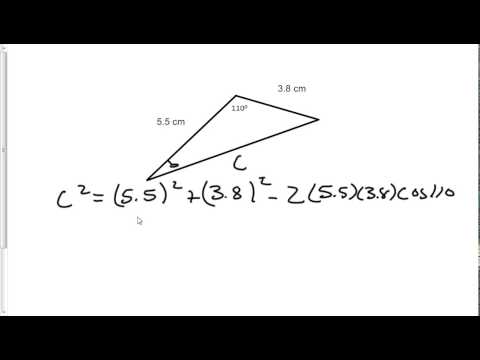 Law of Cosines and Law of Sines