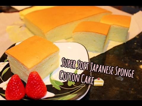 How to Make Super Soft Irresistible Japanese Sponge Cake   日本棉花蛋糕(燙麵法)