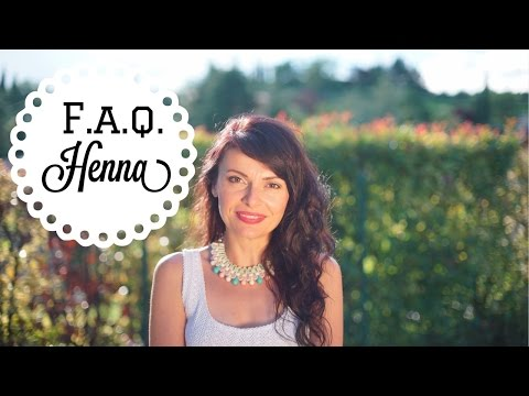 Henna Hair Dye: F.A.Q on how to dye your hair naturally with black henna, red henna & cassia obovata