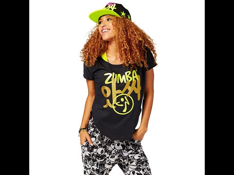 Zumbaclothes.ca - How to Cut Zumba® Wear T-shirt into Tulip Top in 15 Seconds
