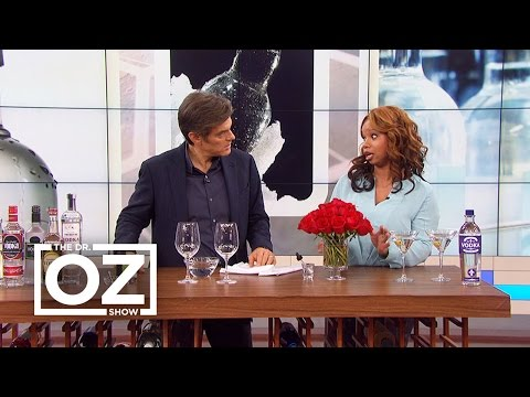 Dr. Oz Learns How Vodka Can Ease Cold Sores